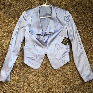 Bebe Textured Satin Jacket Size 2